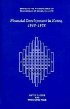 Financial Development in Korea, 1945-1978 (Harvard East Asian Monograp-ExLibrary