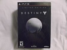 Destiny -- Limited Edition (Sony PlayStation 3, 2014) Rated Teen. Unopened.