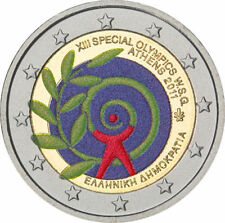 Coin / Munt Greece Griekenland 2 Euro 2012 Special Olympics  Fdc Collor