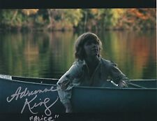 ADRIENNE KING ALICE SIGNED FRIDAY THE 13TH 8X10 PHOTO A