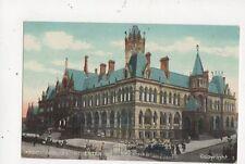 Assize Courts Manchester Vintage Postcard 547a