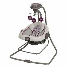 BRAND NEW! Graco DuetConnect LX Swing & Bouncer with 6 Swinging Speed (Nyssa)