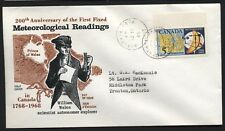 Canada- C.F.B. ADASTRAL PARK, ONT. Meteorology FDC 1968