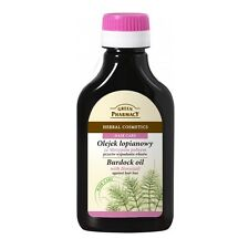 Green Pharmacy Herbal Burdock Oil with Horsetail Hair Care Natural Cosmetics