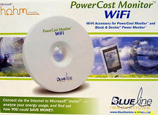 Blue Line Innovations MicroSoft Hohm WIFI Power Cost Monitor #BLI-31100 - NEW