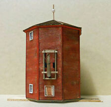 NORTHERN ENCLOSED WATER TOWER HO Model Railroad Structure Uptd Laser Kit RSL2050