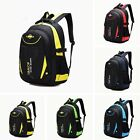 Children Boys Student Waterproof Backpack School Bookbag Rucksack Shoulder Bag