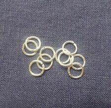 Sterling Silver 9mm Open Jump Rings x 20 Heavy weight 1.2mm thickness
