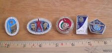 Russian Soviet Space pin lot of 5 from large collection NO RESERVE! VINTAGE 3K