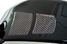 Kohlefaser Faser Optik Knie Seite Tank Protektoren - Für Benelli Motorräder