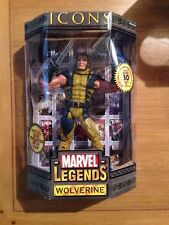 "Marvel Legends Icons Wolverine 12"" Action Figure,  MIB Factory Sealed"