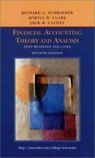 Accounting Theory : Text and Readings by Jack M. Cathey, Myrtle W. Clark and Ri…