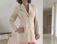 Laurel For Escada Women's Light 100% Wool Jacket In Size 34