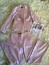 Bebe Purple Pant Suit - Size 6 - Lilac Suit - Perfect for Spring / Summer