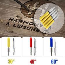 15Pcs 30° 45° 60° Cutting Plotter Blades Pour Graphtec CB15U Vinyl Cutter