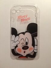 Mickey Mouse Clear Silicone Gel Case For iPhone 7