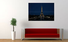 EIFFEL TOWER NIGHT NEW GIANT LARGE ART PRINT POSTER PICTURE WALL