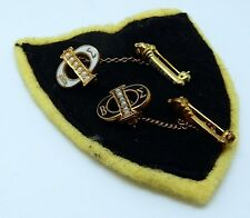 Lot of 2 Vintage Enameled Beta Sigma Phi Sorority Lavaliere Style Pins