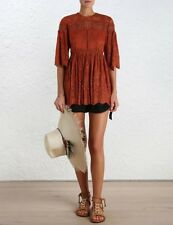 Zimmermann Alchemy Twine Embroidered Top BNWT Size 0 SOLD OUT EVERYWHERE