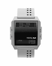 NEW VESTAL DIGICHORD WHITE BLACK SCUBA SURF SNOW SUP SPORTS WATCH