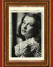 Vivien Leigh Dictionary Art Print Poster Picture Gone with the Wind Movie Gift