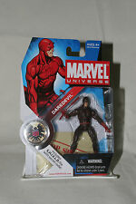 Marvel Universe Daredevil Dark Red Hasbro 2008 Series 1 #008 Avenger Shield New