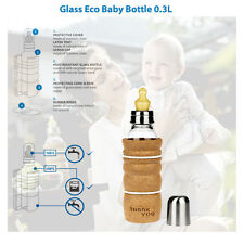 BABY BOTTLE ( ECO - THANK YOU) BY NATURES DESIGN ( FREE P&P )