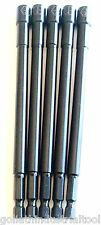 """5 GOLIATH INDUSTRIAL 6"""" LASER ETCHED 1/4"""" IMPACT MAGNETIC NUT SETTERS IMNS6-14"""