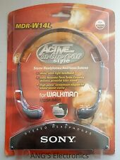 New Sony MDR-W14L Headphones Mega Bass Active in The Ear ( Sony MDR-W08L Style )