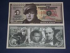 BEAUTIFUL UNC NOVELTY NOTE MARLON BRANDO FREE NOTE OFFER!