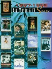 1997-1998 Big Movie & TV Songs: Piano/Vocal/Chords Alfred Publishing [Edit