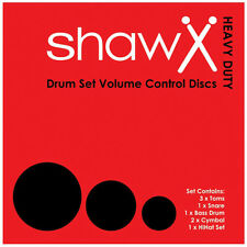 SHAW H/D Volume Control Discs, Drum Silencer Pads, Mutes FUSION SET 002-100-201