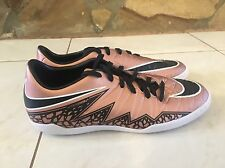 NEW MENS NIKE HYPERVENOM PHELON II IC Indoor Soccer Shoes Size 10.5 BRONZE