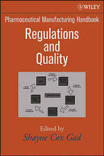 Pharmaceutical Manufacturing Handbook: Regulations and Quality-ExLibrary