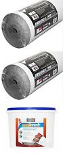 2 x Erfurt Graphite Insulating Lining Paper + 5kg Thermal Liner Adhesive