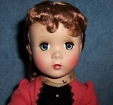 "BEAUTIFUL! Vintage 1950s Madame Alexander 14"" Little Women JO Hard Plastic Doll"
