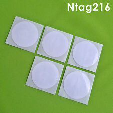 5 pcs Ntag216 nfc tags, Universal tags, Higher memory, Compatative than Ntag203