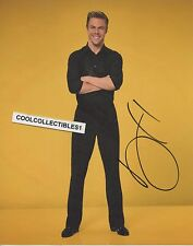 """DEREK HOUGH """"DANCING WITH THE STARS"""" IN PERSON SIGNED 8X10 COLOR PHOTO"""