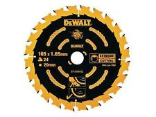 DEWALT DT10300 EXTREME CORDED CIRCULAR SAW BLADE 165MM X 20MM BORE 24 TOOTH
