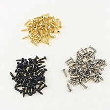 150 Pcs Pickguard Mounting Screws Scratch Plate Screws for Strat Tele Guitar