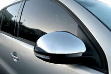 CHROME FINISH MIRROR COVERS FOR VW TIGUAN SHARAN II SEAT ALHAMBRA SKODA YETI