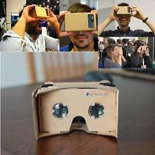 DIY Google Cardboard Virtual Reality 3D Glasses for iPhone Samsung ect Phones UP