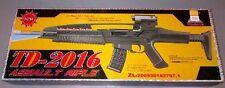 Td2016 enfants jouet militaire pistolet fusil d'assaut avec vibration sonore feux clignotant