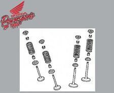 NEW GENUINE OEM 2012 2013 HONDA CRF250R CRF 250 INTAKE & EXHAUST VALVE KIT
