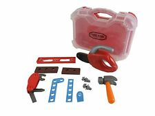 12 PCS Toy Tools DIY Kids Real Action Tool Kit With Tool Case