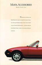 1989?1990 Mazda MIATA Options / ACCESSORIES Brochure / Catalog: Rack,Mats,......