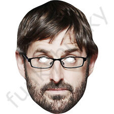 Louis Theroux Celebrity Card Face Mask - All Our Masks Are Pre-Cut!