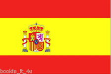 ***SPAIN SPANISH VINYL FLAG DECAL / STICKER***