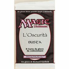 MTG: Italian THE DARK Sealed Booster Pack - Magic the Gathering L'Oscuritá Busta