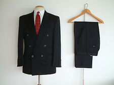 "1940's STYLE SUIT..GOODWOOD..TWIN PLEATS..PTU's..HIGH WAISTED..36""x 30""..DEMOB"